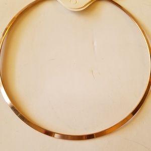 Jewelry - Gold plated choker